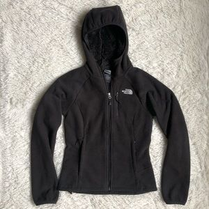 The North Face Black Full Zip Hooded Jacket XS
